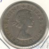 1/2 кроны, 1961 г., Великобритания (Елизавета II)