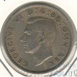 1/2 кроны, 1950 г., Великобритания (Георг VI)
