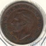 1 пенни, 1945 г., Великобритания (Георг VI)