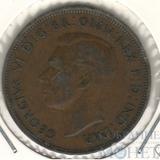 1 пенни, 1937 г., Великобритания (Георг VI)