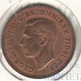 1/2 пенни, 1949 г., Великобритания (Георг VI)