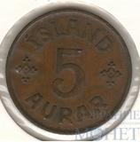 5 аурар, 1942 г., Исландия