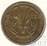 10 франков, 1956 г., Французская Западная Африка