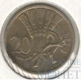 20 геллеров, 1924 г., Чехословакия