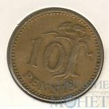 10 пенни, 1964 г., Финляндия