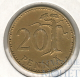 20 пенни, 1974 г., Финляндия