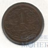 1 цент, 1937 г., Нидерланды