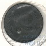 10 центов, 1942 г., Нидерланды