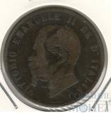10 сентисими, 1863 г., Италия