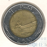 500 лир, 1986 г., Италия