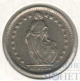 1 франк, 1970 г., Швейцария Ni
