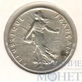50 сентимо, серебро, 1913 г., Франция