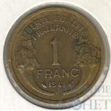 1 франк, 1941 г., Франция