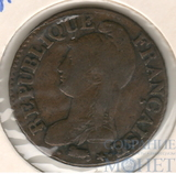 5 сентимо, 1795-1800 гг.., Франция