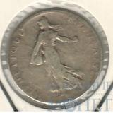 50 сентимо, серебро, 1904 г., Франция
