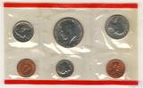 Годовой набор монет США, 1987 г., монетный двор D