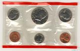 Годовой набор монет США, 1989 г., монетный двор D