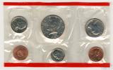 Годовой набор монет США, 1988 г., монетный двор D
