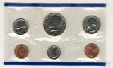 Годовой набор монет США, 1990 г., монетный двор Р