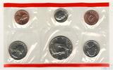 Годовой набор монет США, 1991 г., монетный двор D