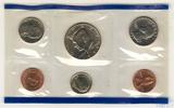 Годовой набор монет США, 1993 г., монетный двор P
