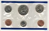 Годовой набор монет США, 1995 г., монетный двор Р