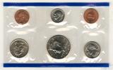 Годовой набор монет США, 1996 г., монетный двор Р