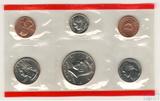 Годовой набор монет США, 1998 г., монетный двор D