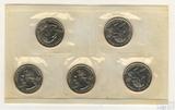 Набор квотеров (25 центов) США, 2000 г., монетный двор Р