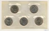Набор квотеров (25 центов) США, 2002 г., монетный двор Р