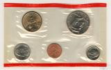 Годовой набор монет США, 2002 г., монетный двор D