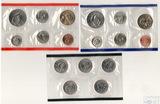 Годовой набор монет США, 2005 г., монетный двор D, Р, Набор квотеров (25 центов) США, 2005  г., монетный двор D