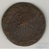 5 копеек, 1781 г., ЕМ
