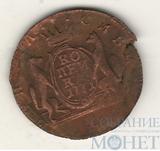 Сибирская монета, копейка, 1771 г.