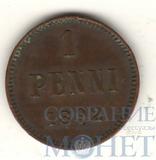 Монета для Финляндии: 1 пенни, 1892 г.