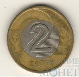 2 злотых, 1995 г., Польша