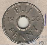 1 пен, 1956 г., Фиджи