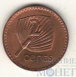 2 цента, 1992 г., Фиджи