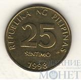 25 сентимо, 1998 г., Филиппины