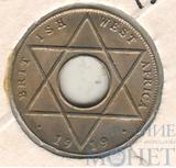 1/10 пенни, 1919 г., Британская Западная Африка
