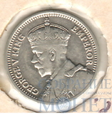 3 пенса, серебро, 1936 г., Новая Зеландия