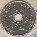 1 пенни, 1940 г., Британская Западная Африка