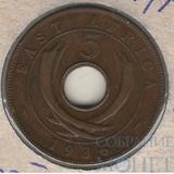 5 центов, 1936 г.,(Георг V), Восточная Африка