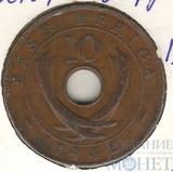 10 центов, 1942 г., Восточная Африка