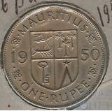 1 рупия, 1950 г., Маврикий