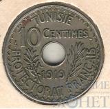10 сентим, 1919 г., Тунис