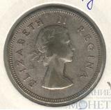 2 шиллинга, серебро, 1954 г., ЮАР