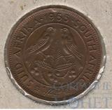 1 фартинг, 1955 г., ЮАР
