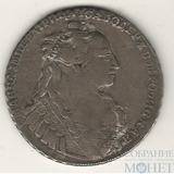1 рубль, серебро, 1734 г.