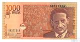1000 песо, 2007 г., Колумбия